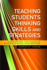Teaching Students Thinking Skills and Strategies : A Framework for Cognitive Education in Inclusive Settings - Book