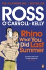 Rhino What You Did Last Summer - Book