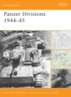Panzer Divisions 1944-45 - Book