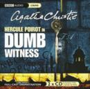 Dumb Witness - Book