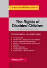 The Rights Of Disabled Children : A Straightforward Guide - Book