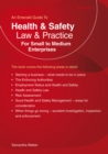 Health And Safety Law And Practice For Small To Medium Enter Prises : An Emerald Guide - Book