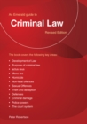 Criminal Law : An Emerald Guide - Book
