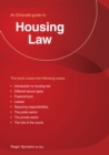 Housing Law : An Emerald Guide - Book