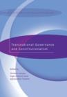 Transnational Governance and Constitutionalism - eBook