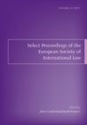 Select Proceedings of the European Society of International Law, Volume 3, 2010 - eBook