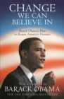 Change We Can Believe In : Barack Obama's Plan to Renew America's Promise - Book