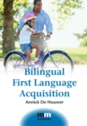 Bilingual First Language Acquisition - Book