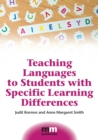 Teaching Languages to Students with Specific Learning Differences - Book