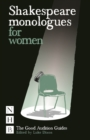 Shakespeare Monologues for Women - Book