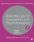 Essential Law for Counsellors and Psychotherapists - Book