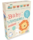 Baby Moments : Record cards for Baby's important milestones! - Book