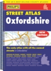 Philip's Street Atlas Oxfordshire 5ED Spiral (New Edition) - Book