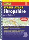 Philip's Street Atlas Shropshire and Telford - Book