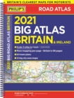 2021 Philip's Big Road Atlas Britain and Ireland : (A3 Spiral binding) - Book
