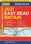 2021 Philip's Easy to Read Britain Road Atlas : (A4 Paperback) - Book