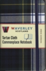 Dress Gordon: Waverley Genuine Tartan Cloth Commonplace Notebook (9cm x 14cm) - Book