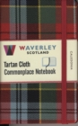 Caledonia: Waverley Genuine Tartan Cloth Commonplace Notebook (9cm x 14cm) - Book