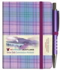 Waverley S.T. (S): Romance Mini with Pen Pocket Genuine Tartan Cloth Commonplace Notebook - Book