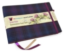 Guest Book - Kinloch Anderson Thistle Tartan cloth : Waverley Scotland Genuine Tartan Commonplace Series (16cm x 24cm) - Book