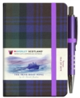 The Skye Boat Song Tartan Notebook (mini with pen) - Book