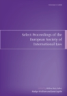 Select Proceedings of the European Society of International Law : v. 2 - Book