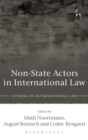 Non-State Actors in International Law - Book