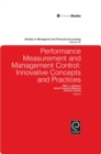 Performance Measurement and Management Control : Innovative Concepts and Practices - Book