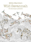 Millie Marotta's Wild Savannah Postcard Box : 50 beautiful cards for colouring in - Book