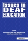 Issues in Deaf Education - Book