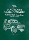 Land Rover 90/110 Defender Workshop Manual 1983 on - Book