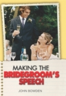 Making the Bridegroom's Speech - Book