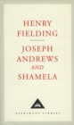 Joseph Andrews And Shamela - Book