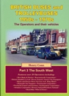 British Buses and Trolleybuses 1950s-1970s : The South West - Book