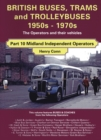 British Buses and Trolleybuses 1950s-1970s : Midland Independents - Book