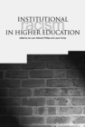 Institutional Racism in Higher Education - Book