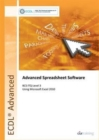 ECDL Advanced Syllabus 2.0 Module AM4 Spreadsheets Using Excel 2010 - Book
