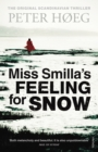 Miss Smilla's Feeling For Snow - Book