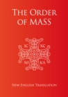 Order of Mass in English - Book