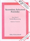 Secondary Selection Portfolio : Verbal Reasoning Practice Papers (Standard Version) Pack 1 - Book