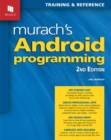 Murach's Android Programming - Book