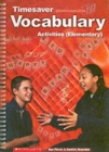 Vocabulary Activities Elementary - Book