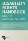 Disability Rights Handbook : 2020/21 - Book