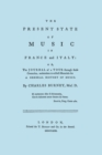 The Present State of Music in France and Italy - Book