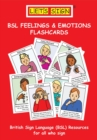 Let's Sign BSL Feelings & Emotions Flashcards - Book