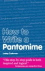 How to Write a Pantomime - Book
