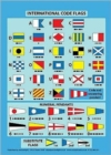 International Code Flags : Encapsulated Card with Meanings on Reverse - Book