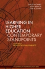 Learning in Higher Education: Contemporary Standpoints - Book