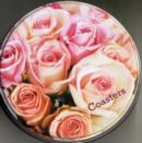 Romantic Country Flowers Coasters - Book