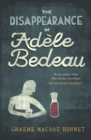 The Disappearance Of Adele Bedeau - Book